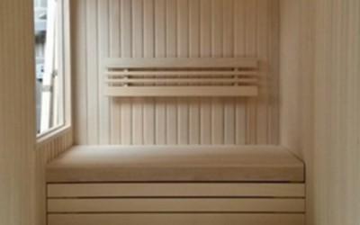 New L Shaped Sauna